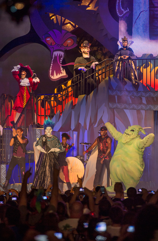 Disney Villains Appeared at Disney's Hollywood Studios as Part of 'Limited Time Magic' for a Special Friday the 13th Celebration