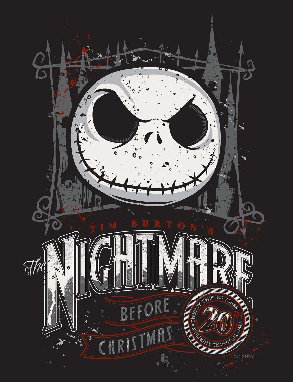 Commemorate Twenty Twisted Years of Tim Burton\'s \'The Nightmare ...