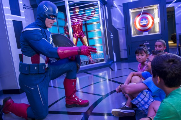 Marvel's Avengers Academy Aboard the Newly Re-Imagined Disney Magic