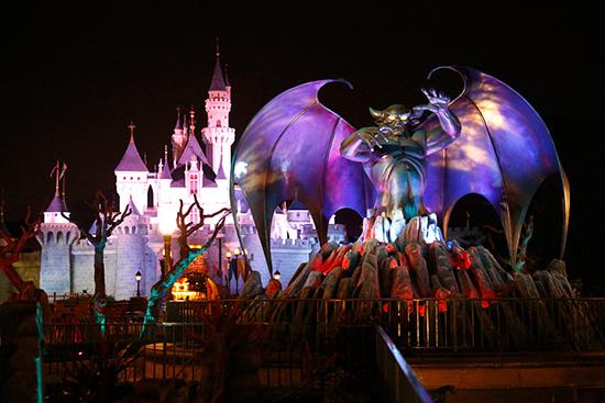 Haunted Halloween celebration At Hong Kong Disneyland