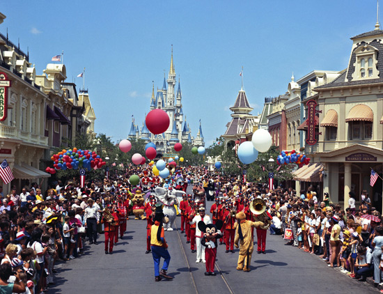 'Cavalcade of Characters' At Magic Kingdom Park