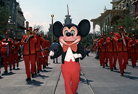 Step in Time: The First 'Character Parades' at Magic Kingdom Park
