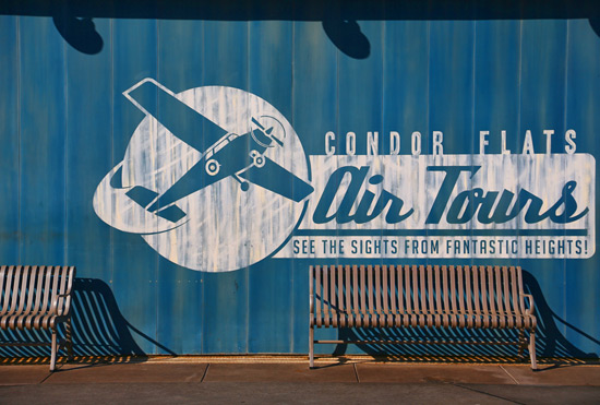 Condor Flats at Disney California Adventure Park