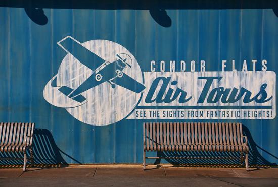 Condor Flats at Disney California Adventure Park