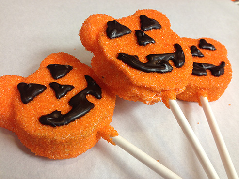 Pumpkin Cake Pop at Disneyland Resort