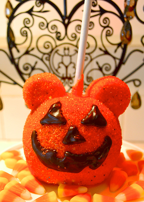 Pumpkin Caramel Apple at Disneyland Resort