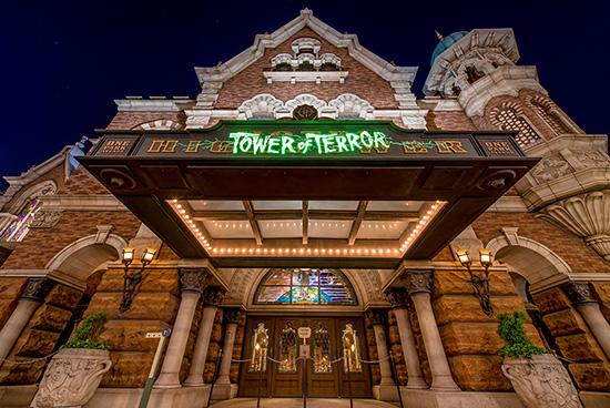 Tower of Terror at Tokyo DisneySea