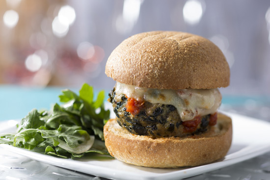 Spanish and Feta Beef Meatball Sandwhich