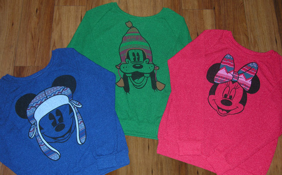 Lightweight and Comfy Winter Sweaters Available at Disney Parks