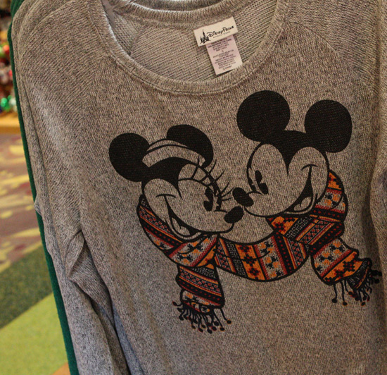 Mickey and Minnie Mouse Sweater Available at Disney Parks