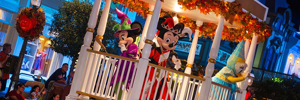Halloween at Walt Disney World Resort