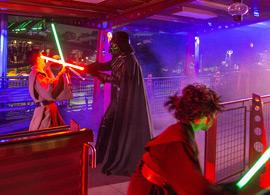 Disney Parks Blog Readers Board the Halloween Time Express Meet-Up at Disneyland Park