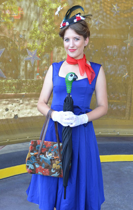 Main Street Style at Disney Parks: Mary Poppins