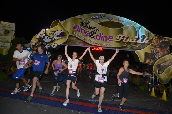 First-Ever runDisney Nighttime Meet-Up to Kickoff Wine & Dine Half Marathon Weekend at Walt Disney World Resort