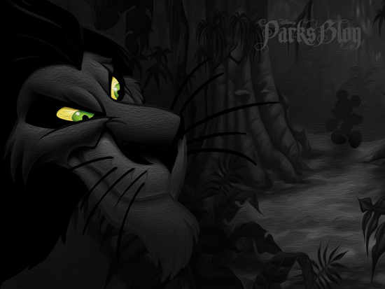 Scar from Disney's 'Lion King'