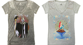 Disney Princesses and Villains T-Shirts Coming Soon to Disney Parks