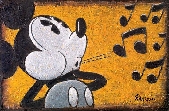 'Whistlin' Mickey' by Joe Kaminski