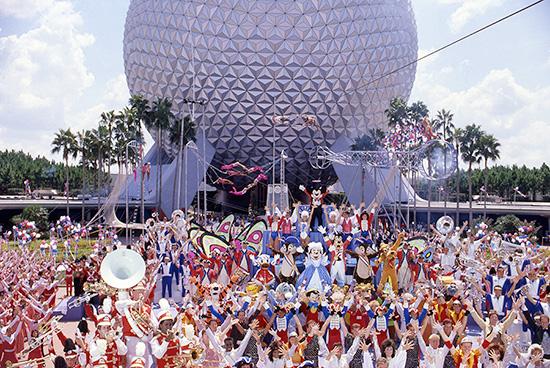 Epcot's Daredevil Circus Spectacular