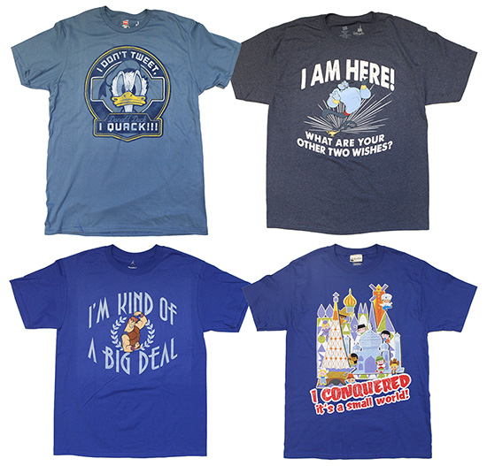Show Off Your Humorous Disney Side with New T-Shirts at Disney Parks in Fall 2013
