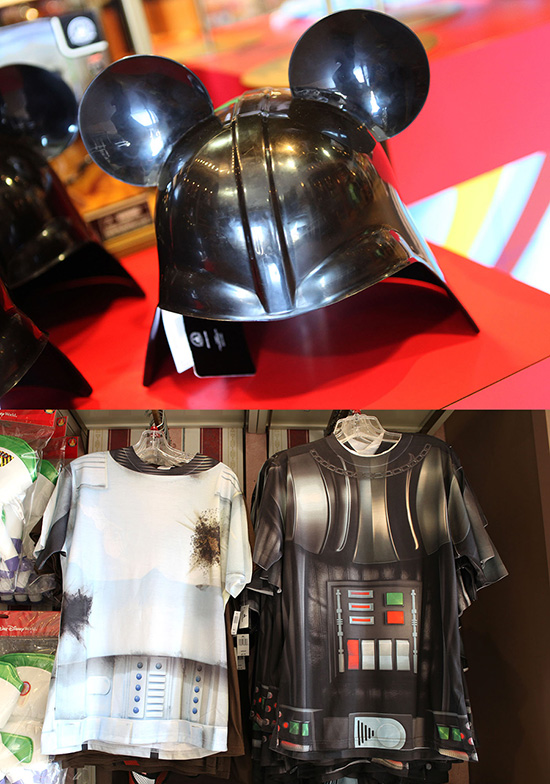Star Wars-Inspired Costume T-Shirt Featuring A Stormtrooper And Darth Vader At Disney Parks