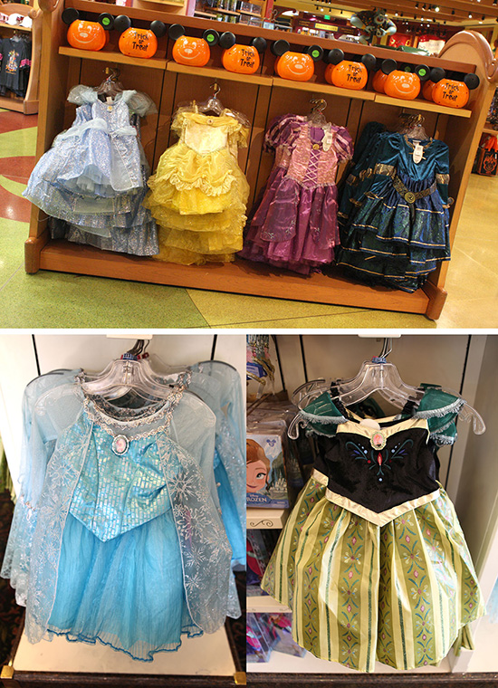 Disney Princess Costumes At Bibbidi-Bobbidi Boutique