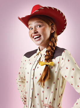 New Disney Side Photo Series Features Disney Character Lookalikes - Jessie