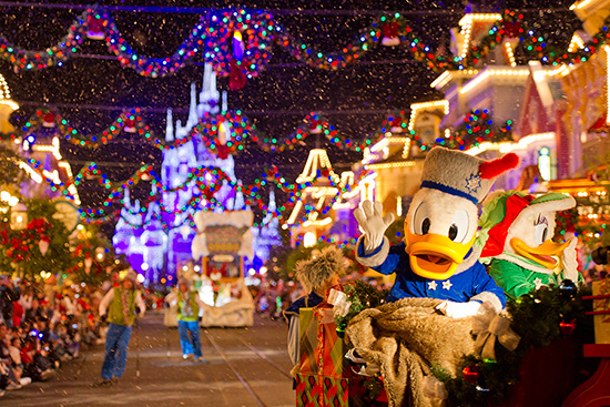 Mickey's Very Merry Christmas Party Returns November 8