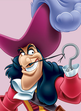 New Disney Side Photo Series Features Disney Character Lookalikes - Captain Hook