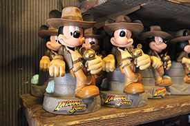 Merchandise Available at the Indiana Jones Adventure Outpost in Adventureland at Disneyland Park