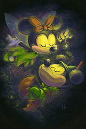 Mickey and Minnie Art by Martin Hsu