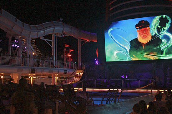 Haunted Stories of the Seas, aboard the Disney Dream for Halloween on the High Seas