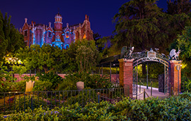 The Haunted Mansion at Tokyo Disneyland