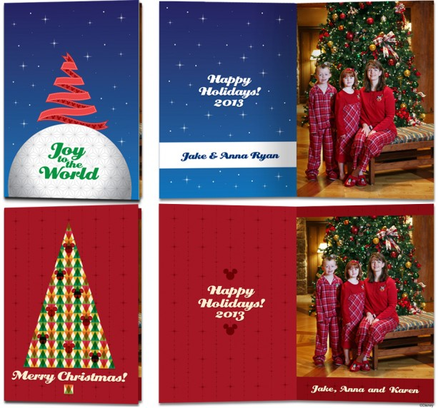 Exclusive Disney Fine Art Photography & Video Holiday Cards