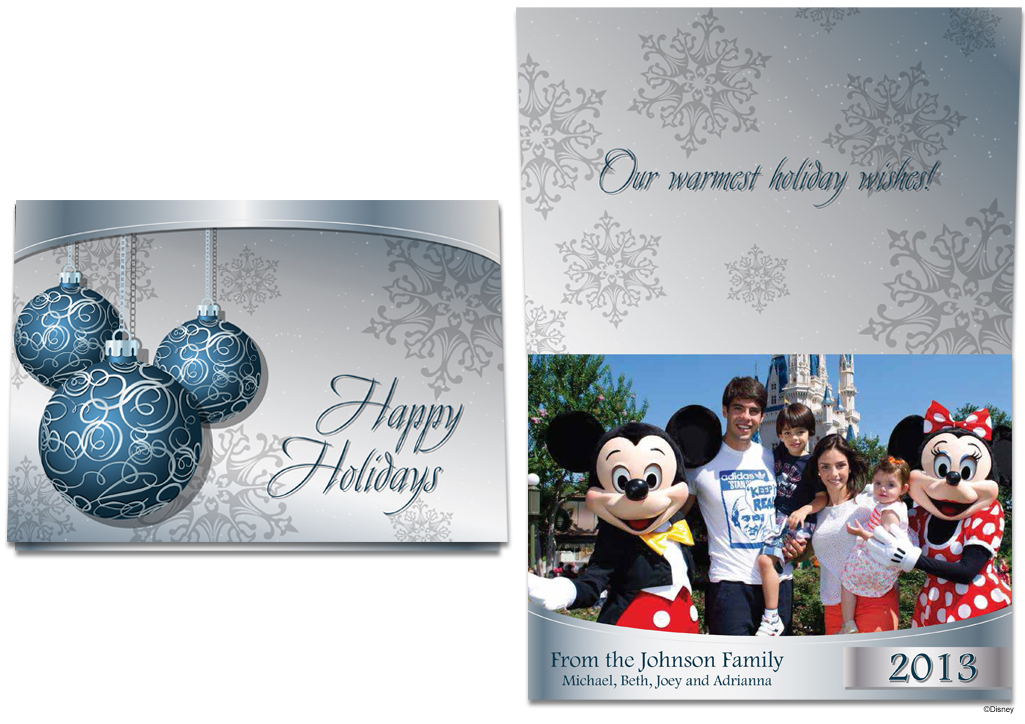 Disney parks create memories with exclusive disney christmas cards how m4hsunfo