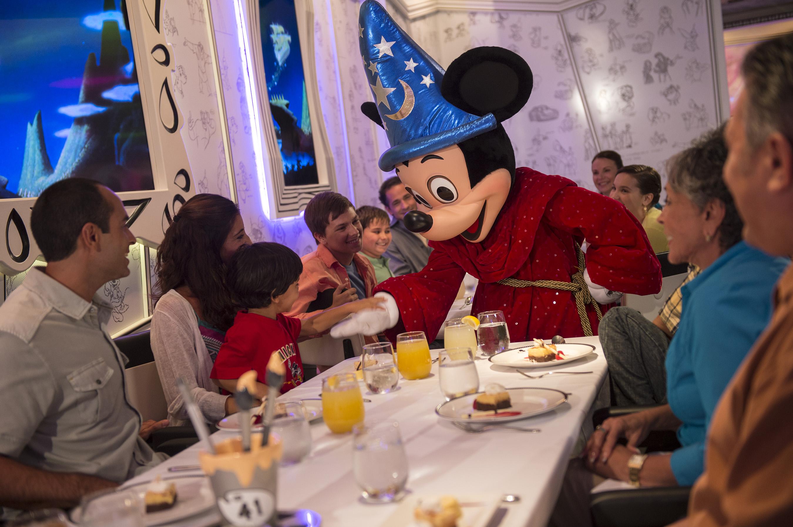 Re-imagined Disney Magic Debuts New 'Drawn To Magic