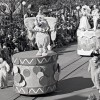 Christmas Parade at Magic Kingdom Park in 1977
