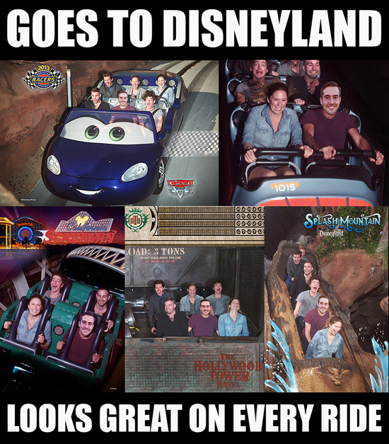 Social Media All-Star Ridiculously Photogenic Guy Shows His Disney Side at Disneyland Resort