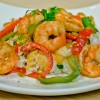 Asian Shrimp Rice Bowl