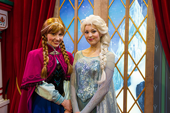 Anna and Elsa, from Disney's 'Frozen'