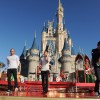 English-Irish Band The Wanted Performs On The Cinderella Castle Stage