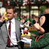Mickey Mouse Hands Neil Patrick Harris A Mickey Mouse Telephone To Make A Very Special Call To Disneyland