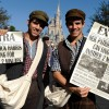 Cast Members From 'Newsies' Joined The Fun On Main Street, U.S.A.