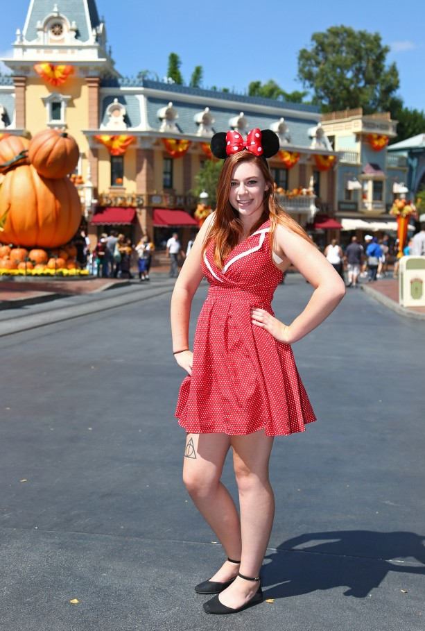 Main Street Style: A Retro Day at Disneyland