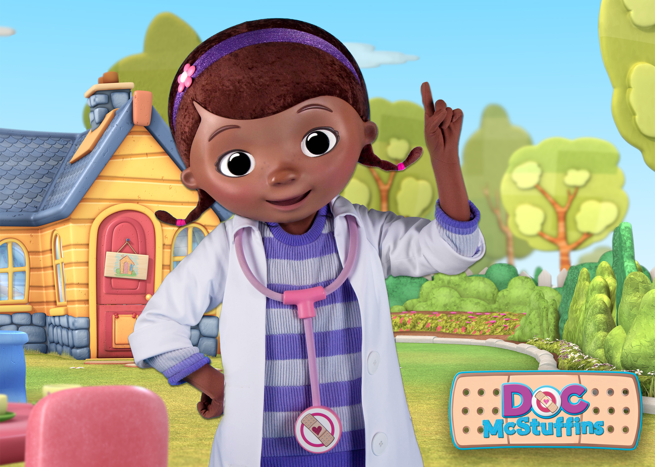 Kid N Play Cartoon Characters : Playing and dining with doc mcstuffins sofia the first