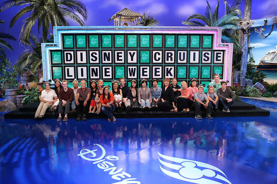 It S Disney Cruise Line Week On Wheel Of Fortune