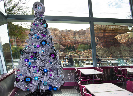 Flo's Tree in Cars Land at Disney California Adventure Park