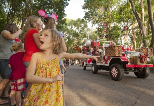 Caption This: A Merry Minnie at Disney's Animal Kingdom
