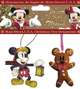 Disneyland Paris Mickey Holiday Ornament