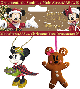 Disneyland Paris Minnie Holiday Ornament