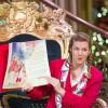 An Enchanting Storyteller Sharing Tales Of The Holiday Season